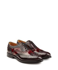 Churchs | Glossy Leather Brogues Gr. It 39