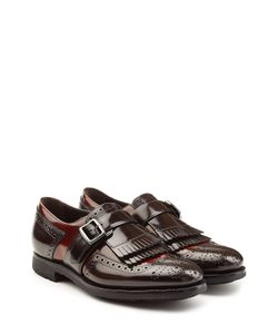 Churchs | Leather Monk Shoes With Fringe Gr. It 385