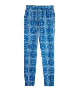 Lemlem | Printed Cotton Pants With Silk Gr. M