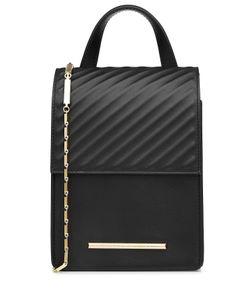 Roland Mouret | Leather Shoulder Bag Gr. One Size