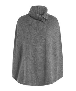 Claudia Schiffer for TSE | Wool Cape With Cashmere Gr. S