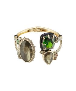 Alexis Bittar | Open Front Cuff With Crystals Gr. One Size