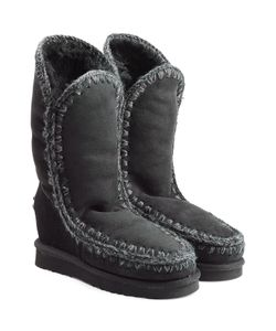Mou | Eskimo Wedge Tall Sheepskin Boots Gr. Eu 37