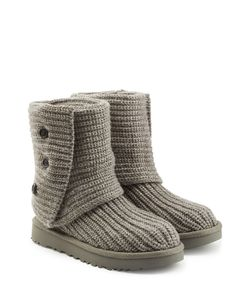 UGG Australia | Ribbed Wool Boots Gr. Us 8