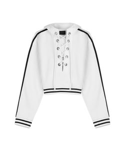 Fenty x Puma by Rihanna | Cotton Hoody With Lace-Up Front Gr. S