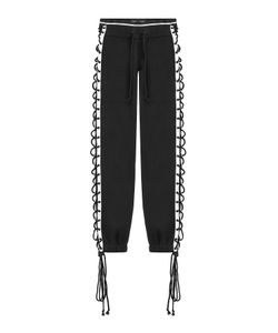 Fenty x Puma by Rihanna | Cotton Pants With Lace-Up Sides Gr. M