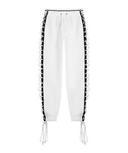Fenty x Puma by Rihanna | Cotton Pants With Lace-Up Sides Gr. S