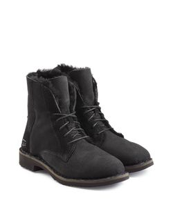 UGG Australia | Suede Lace-Up Boots With Searling Lining Gr. Us 11