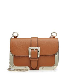 Red Valentino | Leather Shoulder Bag With Tone Frame Gr. One Size