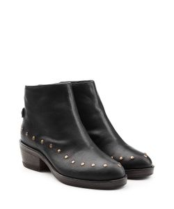 Fiorentini+Baker | Studded Leather Ankle Boots Gr. It 36
