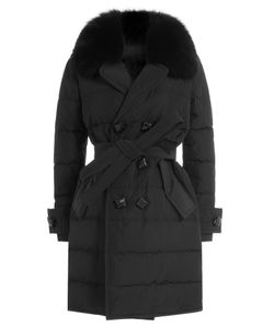 Dsquared2 | Quilted Down Coat With Fur-Trimmed Collar Gr. It 38