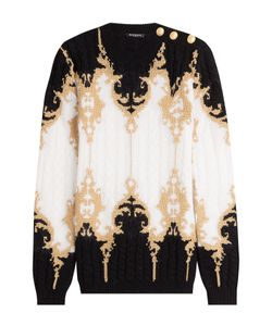 Balmain | Pullover With Embossed Buttons And Thread Gr. Fr 36