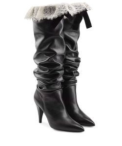 Philosophy di Lorenzo Serafini | Leather Boots With Lace Gr. It 36