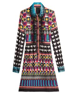 Anna Sui | All You Need Is Love Shirtdress Gr. Us 8