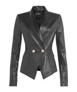 Jitrois | Leather Blazer Gr. Fr 36
