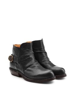 Fiorentini+Baker | Leather Buckle Back Ankle Boots Gr. It 41