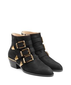 Chloe | Suede Ankle Boots Gr. It 39
