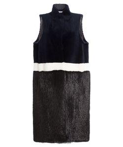 INÈS & MARÉCHAL | Shearling And Mink Fur Vest Gr. Fr 36
