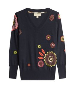 Burberry London | Embroidered And Embellished Wool Pullover Gr. S