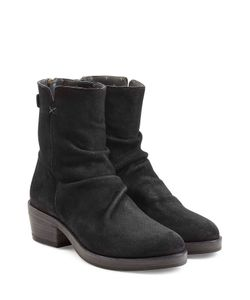 Fiorentini+Baker | Sueded Leather Back Zip Boots Gr. It 41