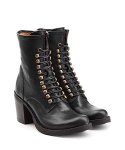 Fiorentini+Baker | Leather Lace-Up Boots Gr. It 37