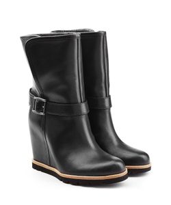 UGG Australia | Leather Wedge Boots Gr. Us 7