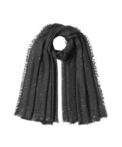 Faliero Sarti | Sequinned Scarf With Wool Silk And Cashmere Gr. One Size