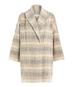 Iro | Printed Virgin Wool Coat Gr. Fr 34