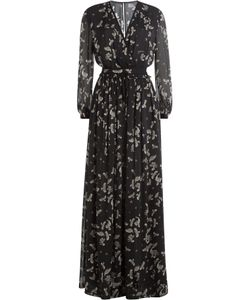 Just Cavalli | Printed Chiffon Maxi Dress Gr. It 42