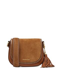 Michael Michael Kors | Suede Shoulder Bag With Leather Gr. One Size