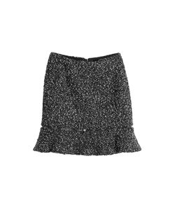 Karl Lagerfeld | Mini Skirt With Zipper Gr. It 38