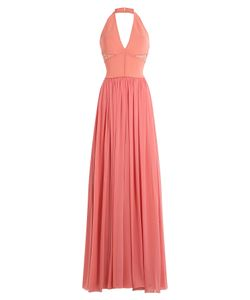 Elie Saab | Floor Length Halter Dress With Lace Gr. Fr 36