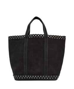 Vanessa Bruno | Suede Tote With Eyelets Gr. One Size
