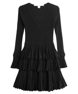 Diane Von Furstenberg | Knit Dress With Tiered Skirt Gr. M