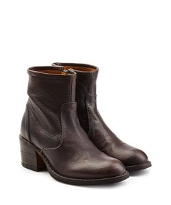 Fiorentini+Baker | Leather Ankle Boots With Zip Gr. It 38