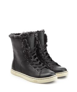 UGG Australia | Shearling Lined Leather High-Tops Gr. Us 7