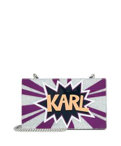 Karl Lagerfeld | Glitter Box Clutch Gr. One Size