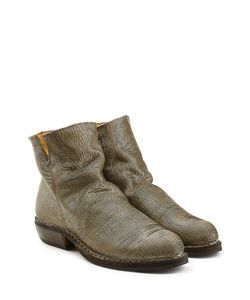 Fiorentini+Baker | Textured Leather Ankle Boots Gr. It 36