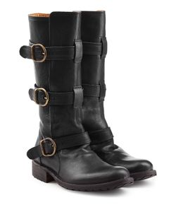 Fiorentini+Baker | Bootie 35 Buckled Leather Boots Gr. It 36