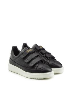 Golden Goose | Leather Sneakers With Velcro Straps Gr. Eu 37