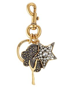 Marc Jacobs | Embellished Keychain With Swarovski Stones Gr. One Size