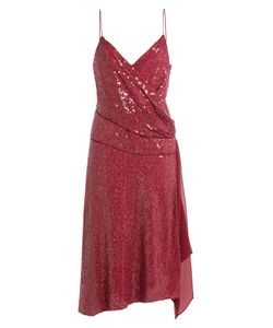 Diane Von Furstenberg | Sequined Silk Dress Gr. Us 8
