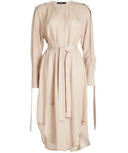 Calvin Klein Collection | Silk Chiffon Shirt Dress Gr. It 40