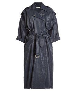 Nina Ricci | Trench Coat With Coated Finish Gr. De 40
