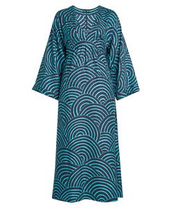 VANESSA SEWARD | Printed Silk Jacquard Dress Gr. Fr 40