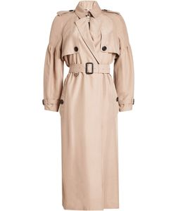 Burberry London | Silk Bishop Sleeved Trench Gr. Uk 6