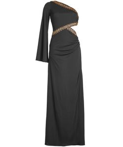 Roberto Cavalli | Embellished Silk Blend Gown Gr. It 42
