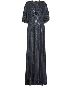Jenny Packham   Embellished Silk Gown Gr. Uk 14