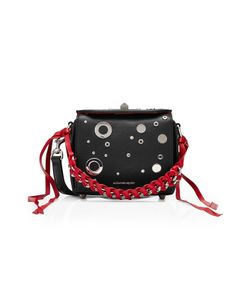 Alexander McQueen | Embellished Leather Box Bag 16 Gr. One Size