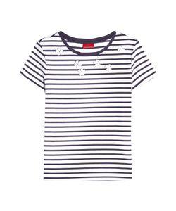 Hugo   Embellished T-Shirt With Cotton Gr. S
